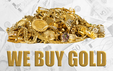 We buy scrap gold and platinum for cash